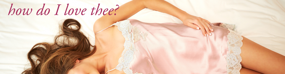 Shop for luxe lingerie!