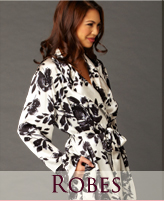 Shop for luxurious robes and wraps!