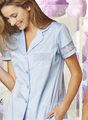 Luxury silk sleepwear and lingerie - shop now!