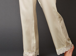 Luxury silk sleepwear and lingerie for mom!