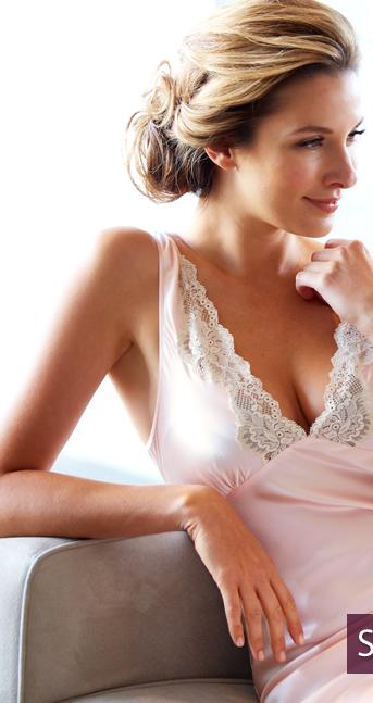 Shop luxury silk nightgowns!