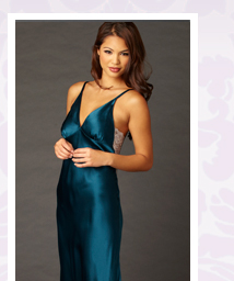 Feel and look fabulous in our glamorous Ariadne Silk Gown!