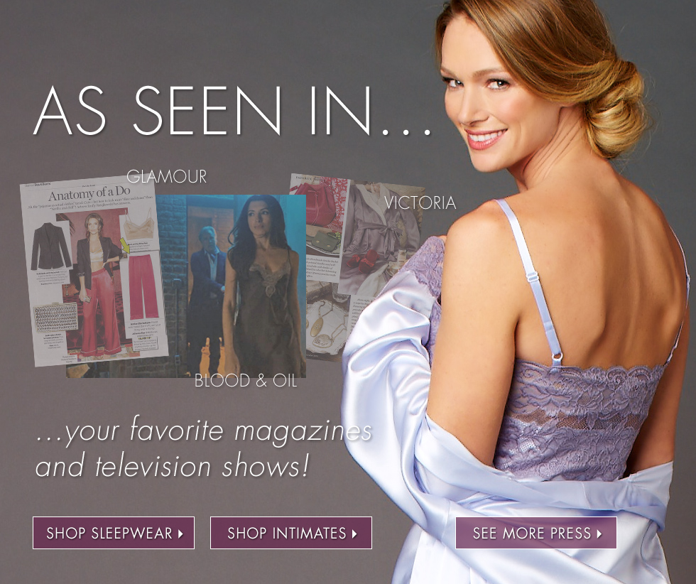 As seen in your favorite movies and magazines!