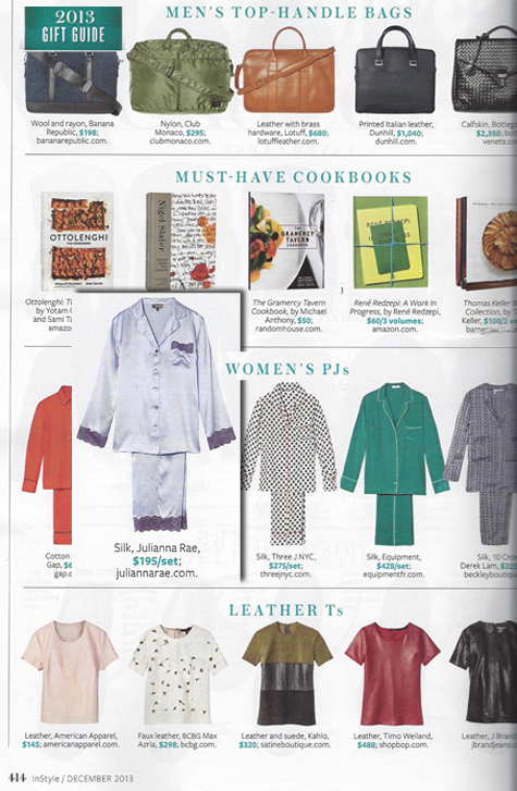 Julianna Rae's Le Tresor Silk Pajama