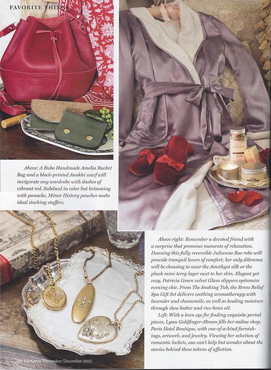 Julianna Rae's Il Cieli Silk Robe