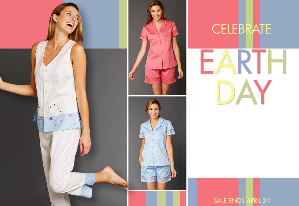 celebrate earth day with our cotton sale!