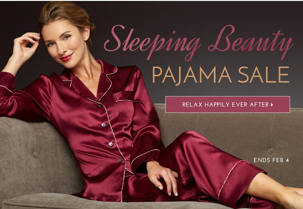 love = a silk pajamas! on sale now
